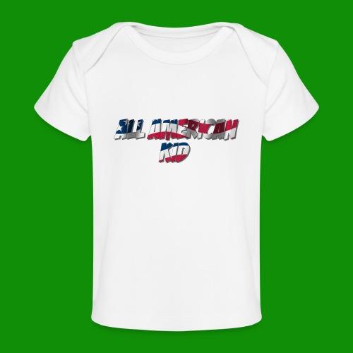 ALL AMERICAN KID - Baby Organic T-Shirt
