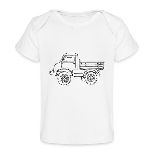 Off-road truck, transporter - Baby Organic T-Shirt