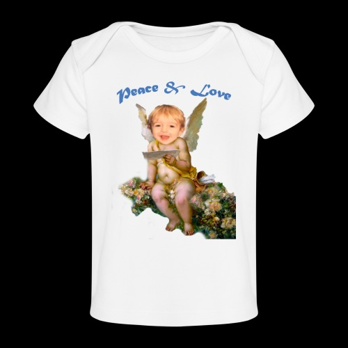 Peace and Love - Baby Organic T-Shirt