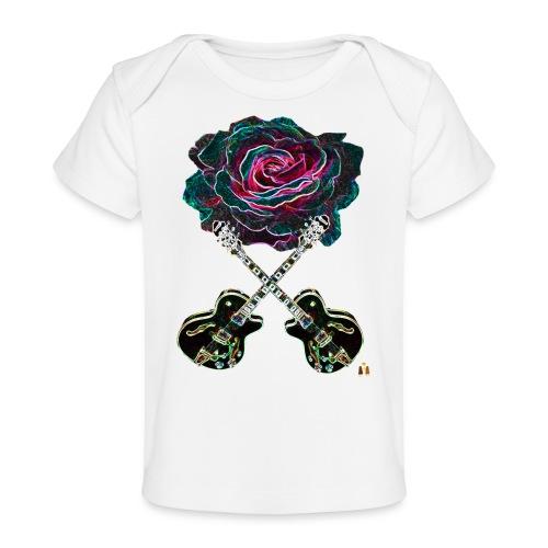 Black Rose - Baby Organic T-Shirt