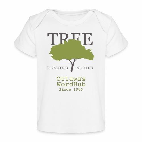 Tree Reading Swag - Baby Organic T-Shirt