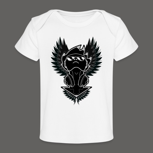 Winged Dj - Baby Organic T-Shirt