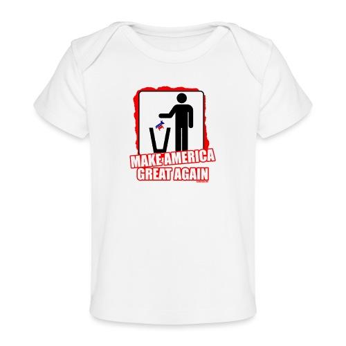 MAGA TRASH DEMS - Baby Organic T-Shirt