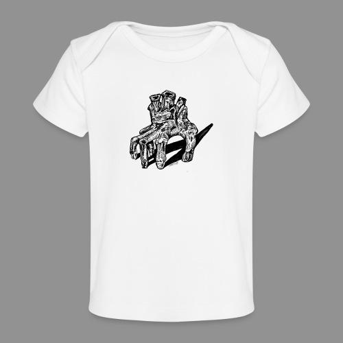 Wolfman Originals Black & White 19 - Baby Organic T-Shirt