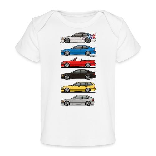 Stack of E36 Variants - Baby Organic T-Shirt