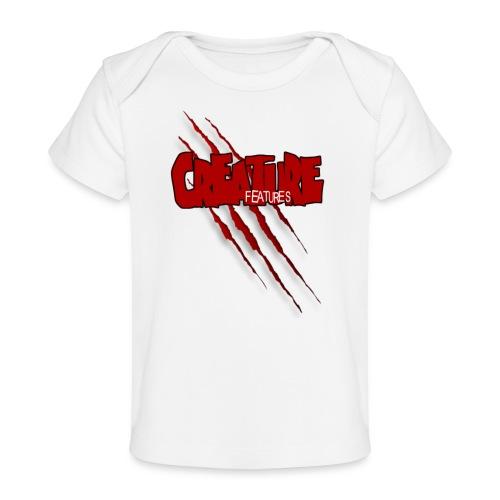 Creature Features Slash T - Baby Organic T-Shirt
