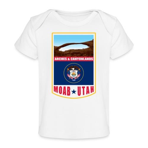 Utah - Moab, Arches & Canyonlands - Baby Organic T-Shirt