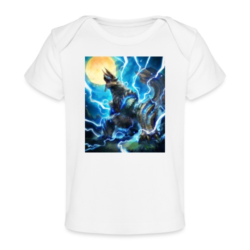Blue lighting dragom - Baby Organic T-Shirt