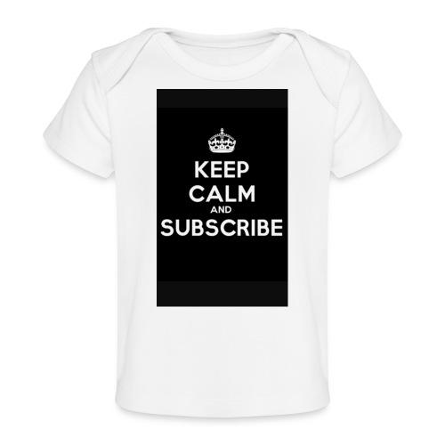 Keep calm merch - Baby Organic T-Shirt