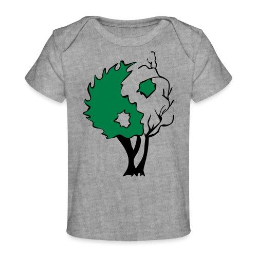 Yin Yang Tree - Baby Organic T-Shirt