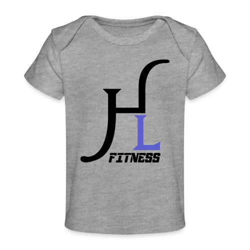 HIIT Life Fitness Logo Purple - Baby Organic T-Shirt