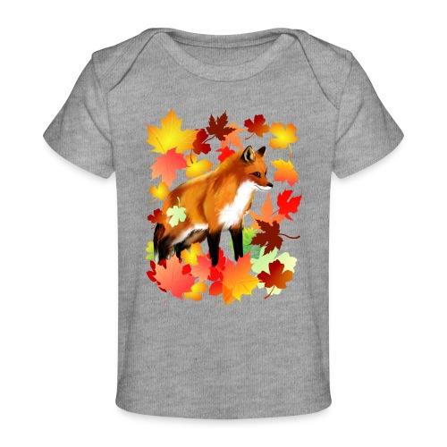A FOX in FALL - Baby Organic T-Shirt