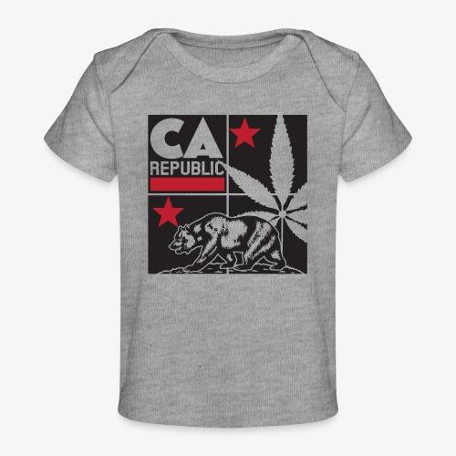 grid2 png - Baby Organic T-Shirt