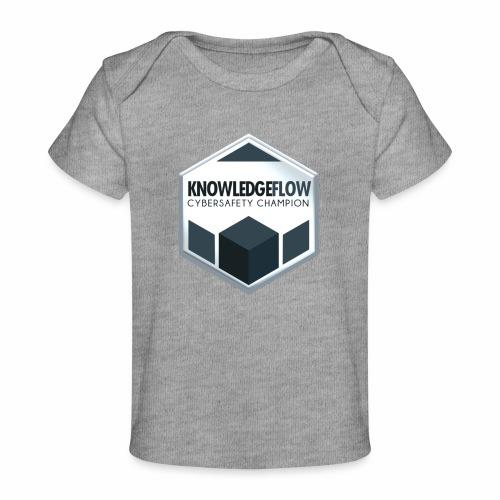 KnowledgeFlow Cybersafety Champion - Baby Organic T-Shirt