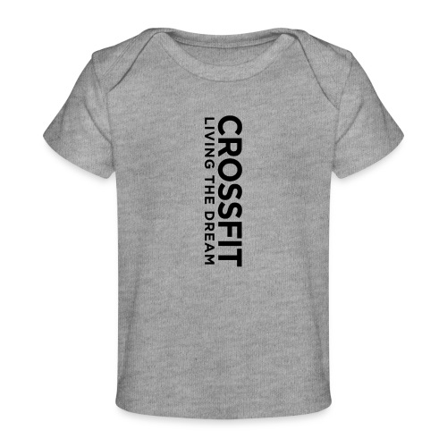 OG Text Vertical - Baby Organic T-Shirt