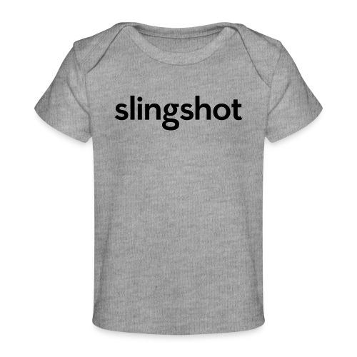 SlingShot Logo - Baby Organic T-Shirt