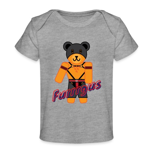 Leather Furrrgus - Baby Organic T-Shirt