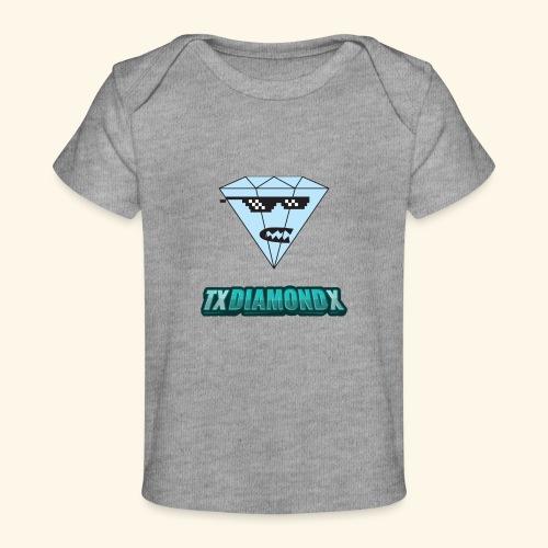 Txdiamondx Diamond Guy Logo - Baby Organic T-Shirt