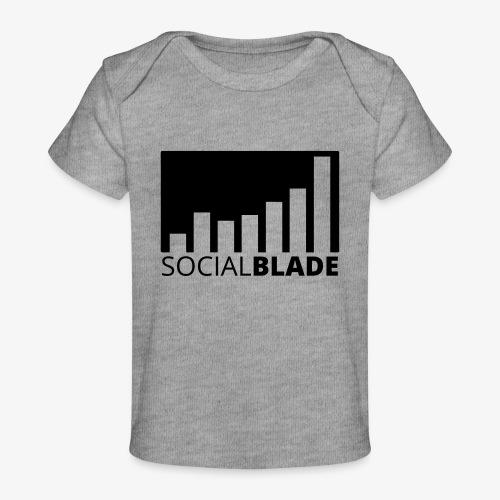 SB Blackout Logo - Baby Organic T-Shirt