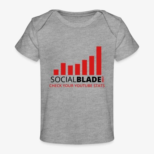Traditional Logo Tagline - Baby Organic T-Shirt