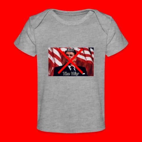 Oxygang: End The War - Baby Organic T-Shirt