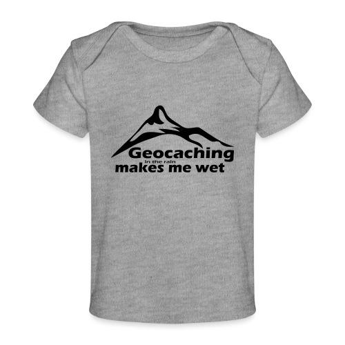 Wet Geocaching - Baby Organic T-Shirt