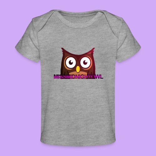 MissMidnightOwl Baby Owl Clothing - Baby Organic T-Shirt