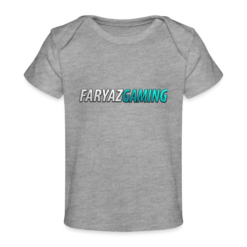 FaryazGaming Theme Text - Baby Organic T-Shirt