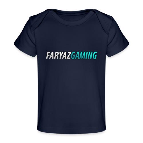 FaryazGaming Theme Text - Baby Organic T-Shirt