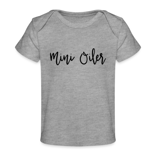 MiniOilerShirt - Baby Organic T-Shirt