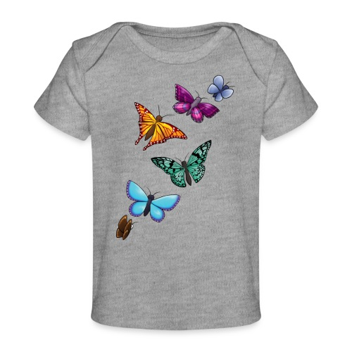 butterfly tattoo designs - Baby Organic T-Shirt
