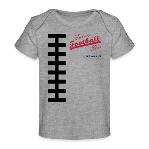 Football Laces for Baby 1 - Baby Organic T-Shirt