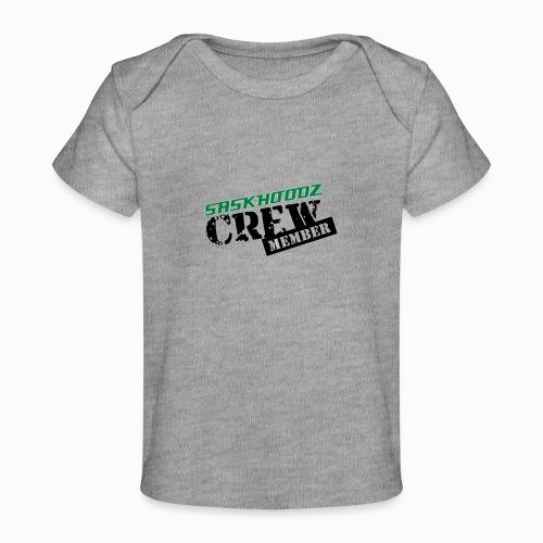 saskhoodz crew - Baby Organic T-Shirt