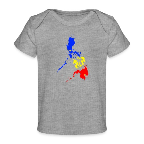 Philippines map art - Baby Organic T-Shirt