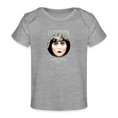 Theda Bara as Cleopatra (1917) - Baby Organic T-Shirt