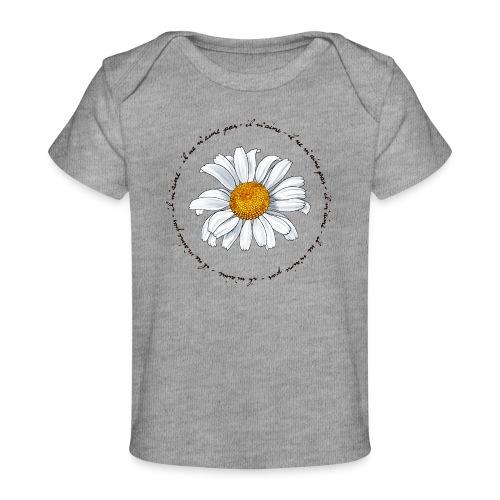 Faust: Marguerite (dark) - Baby Organic T-Shirt
