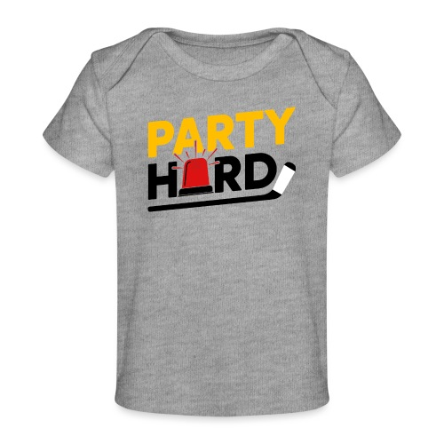 Party Hard on Light - Baby Organic T-Shirt