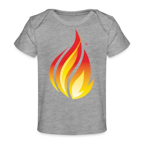 HL7 FHIR Flame Logo - Baby Organic T-Shirt
