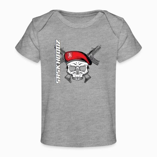 saskhoodz skull - Baby Organic T-Shirt