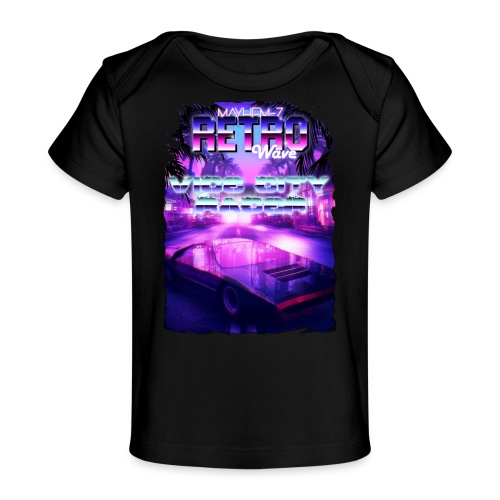 Retro Wave 1 - Baby Organic T-Shirt