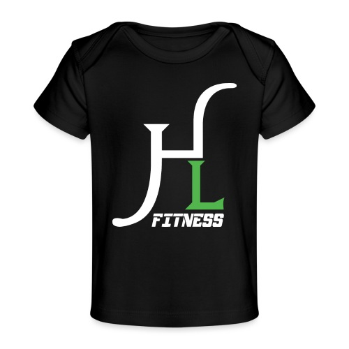 HIIT Life Fitness Logo White - Baby Organic T-Shirt