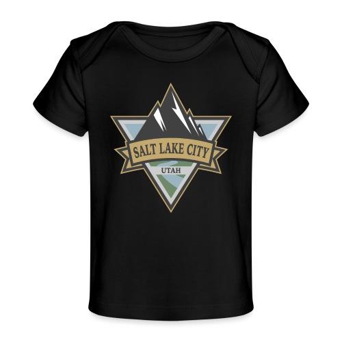 Salt Lake City, Utah - Baby Organic T-Shirt