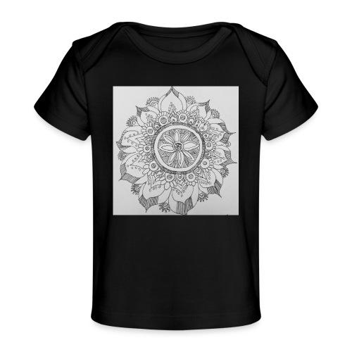 IMG 20180519 082412187mandala - Baby Organic T-Shirt
