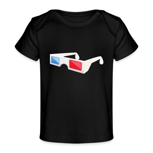 3D glasses - Baby Organic T-Shirt