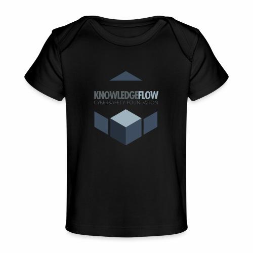KnowledgeFlow Cybersafety Foundation - Baby Organic T-Shirt