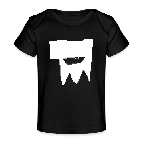 KOOLSKULL CLASSIC 2008 MS PAINT LOGO - Baby Organic T-Shirt