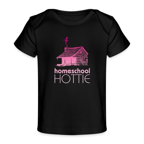 Homeschool Hottie PW - Baby Organic T-Shirt