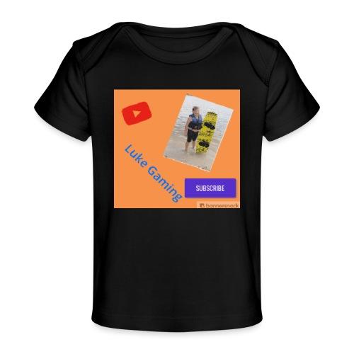 Luke Gaming T-Shirt - Baby Organic T-Shirt