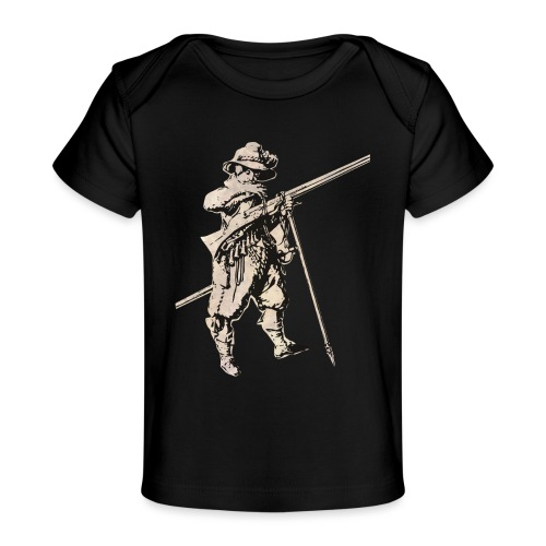 Soldier with mosquet - Baby Organic T-Shirt