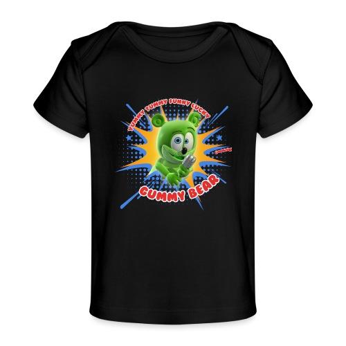 Funny Lucky Gummy Bear - Baby Organic T-Shirt